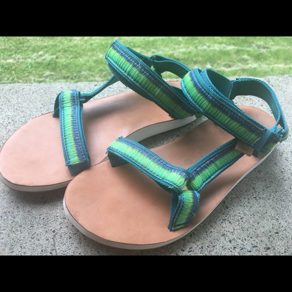 4376c45b558f Teva Original Universal Ombré Sport Sandal size 8.  M 5b37fdc4409c15d1c24a3195